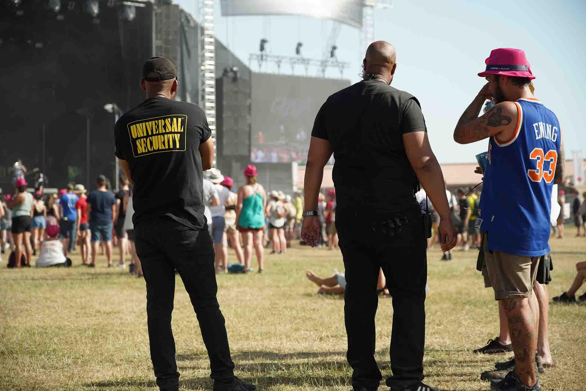 agent-securite-ordre-festival-rock-evreux-normandie
